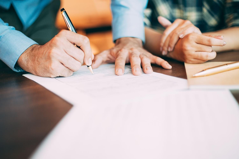 Signature de l'acte d'achat définitif
